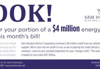 Look for Your Portion of a $4 Million Energy Credit