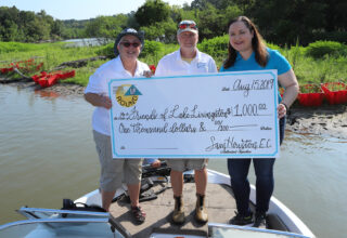 Friends of Lake Livingston Receive Operation Round Up Grant