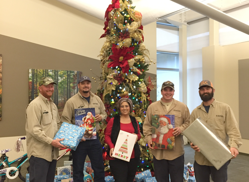 Employees Share Christmas Gifts with Community