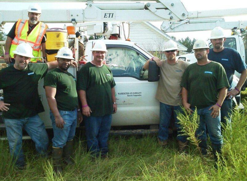 Sam Houston EC Aids Hurricane Isaac Recovery
