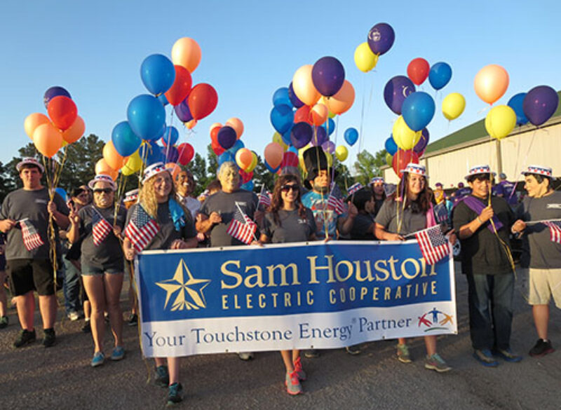 "Sam Houston EC Relay For Life ""Votes Out"" Cancer"
