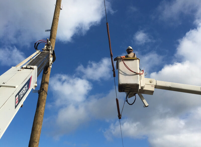 Lives on the Line: #ThankALineman