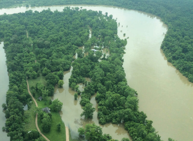 Heavy Rains Causing Severe Flooding, Power Outages in Liberty County