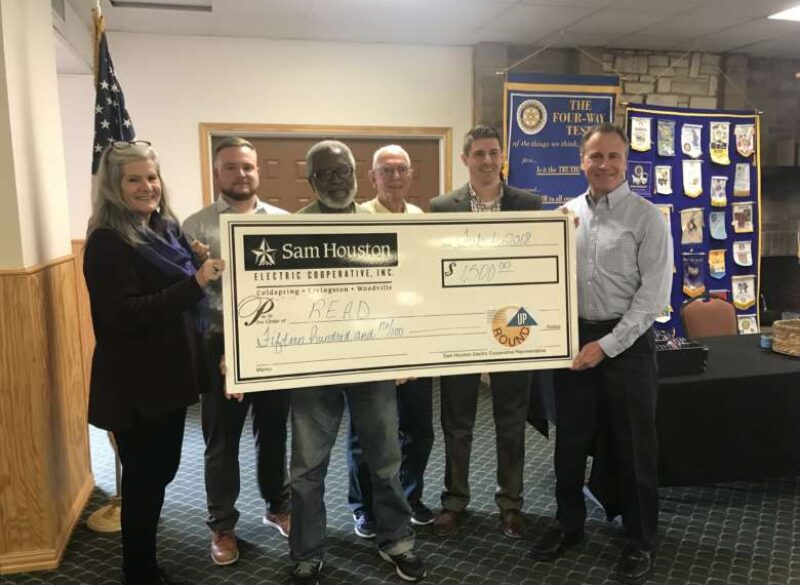R.E.A.D Receives Grant from Sam Houston EC Charitable Foundation