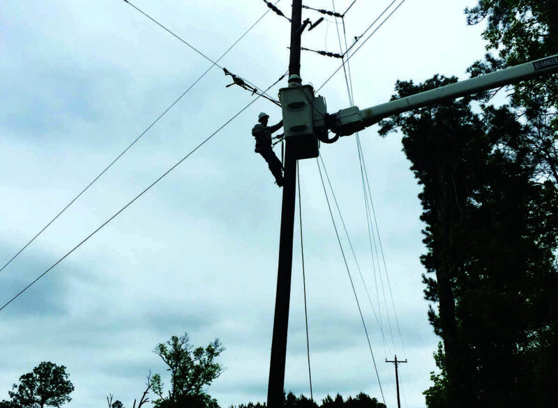 Power Restored to 24,000 Sam Houston EC Members Following Powerful Storm