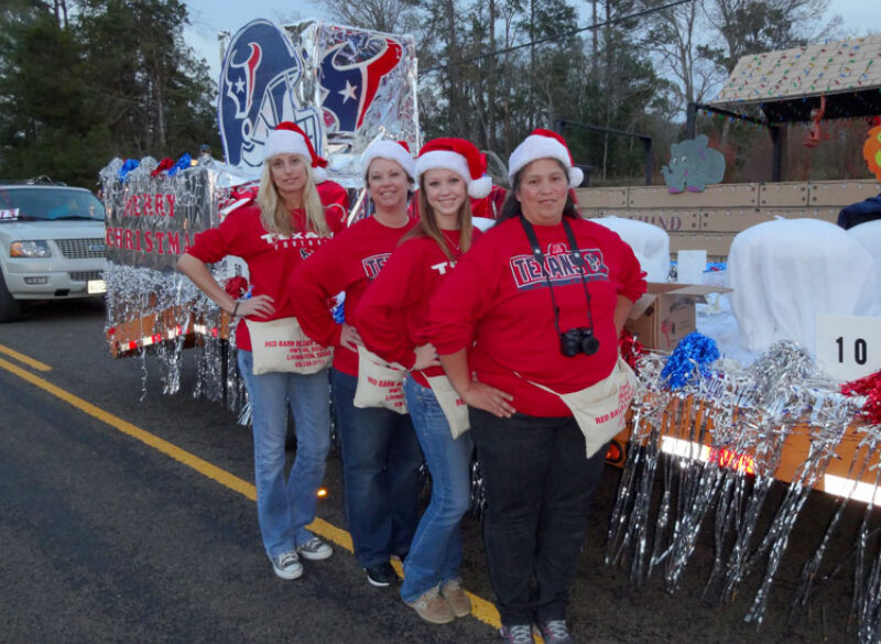 Sam Houston EC Wins Third in Hometown Christmas Parade