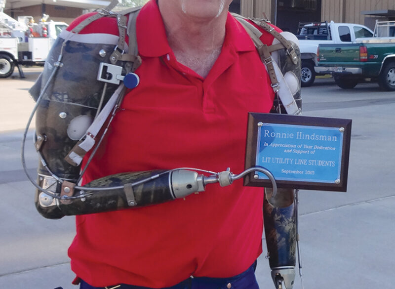 Hindsman Recognized by Lamar Institute of Technology