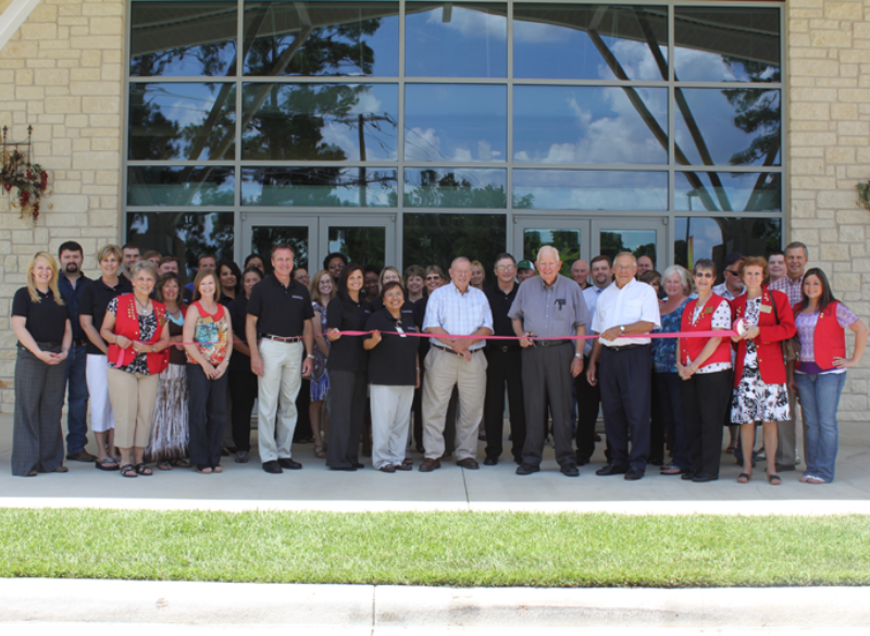 Sam Houston EC Open House and Ribbon Cutting