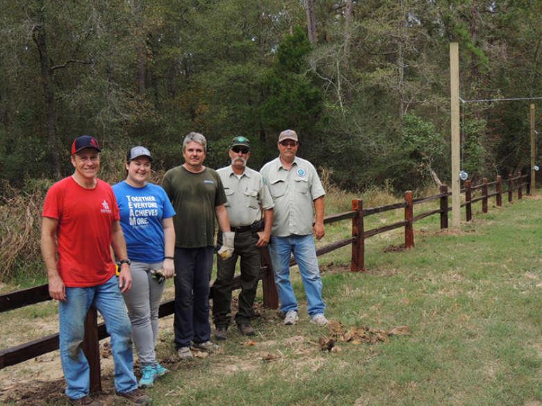 Co-op Helps Construct Archery Range