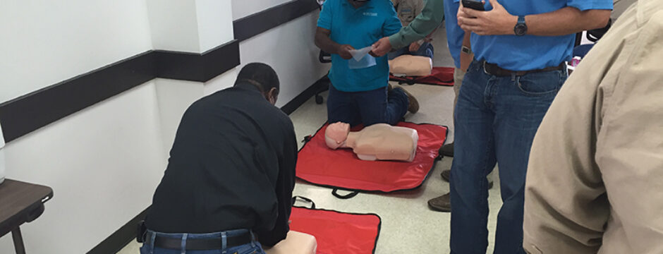 Employees Train For Road Readiness and First Aid