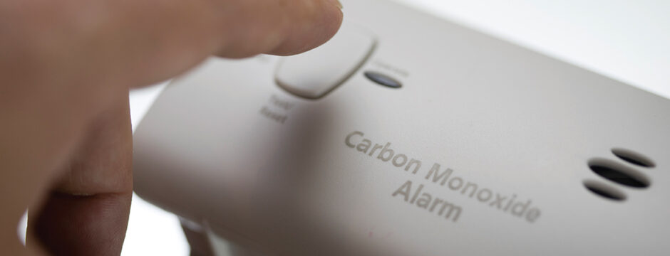Check CO Alarm During Heating Season