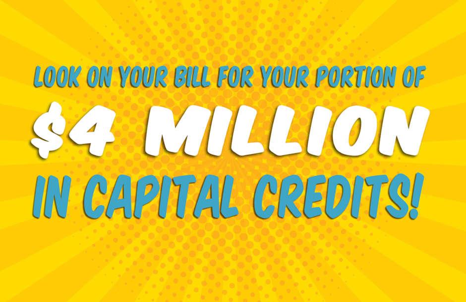 Sam Houston EC Paying Capital Credits to Members