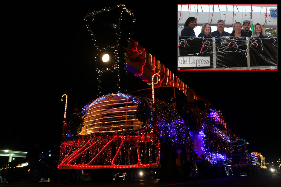 Sam Houston EC Takes First Place in Hometown Christmas Parade
