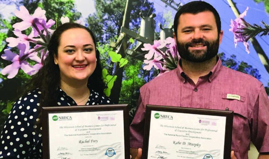 Frey and Murphy Complete Management Training Program
